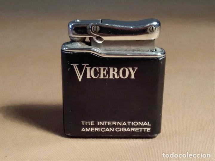 MECHERO ( VICEROY - COLIBRÍ - MONO GAS. ) MADE IN FRANCE. FUNCIONANDO. (Coleccionismo - Objetos para Fumar - Mecheros)