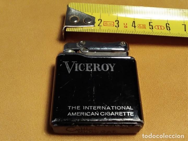 Mecheros: Mechero ( VICEROY - Colibrí - mono gas. ) made in France. Funcionando. - Foto 3 - 148316350