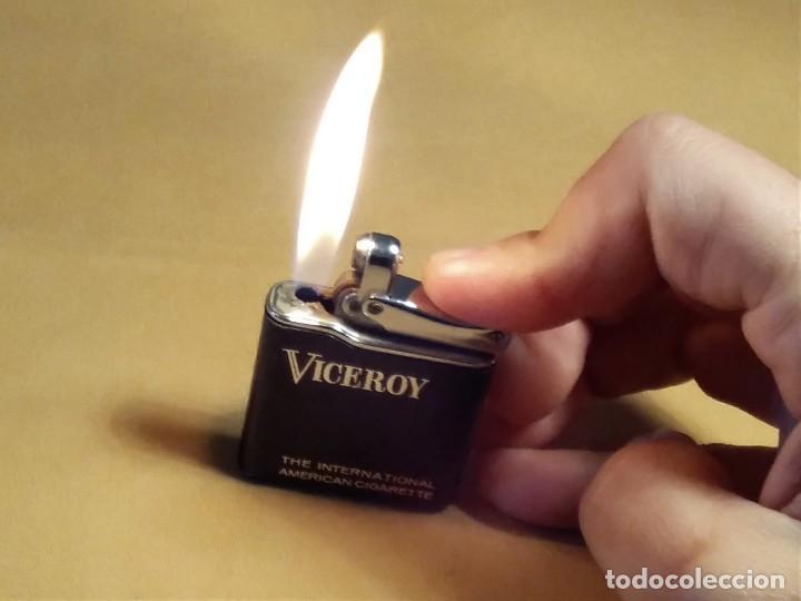 Mecheros: Mechero ( VICEROY - Colibrí - mono gas. ) made in France. Funcionando. - Foto 4 - 148316350