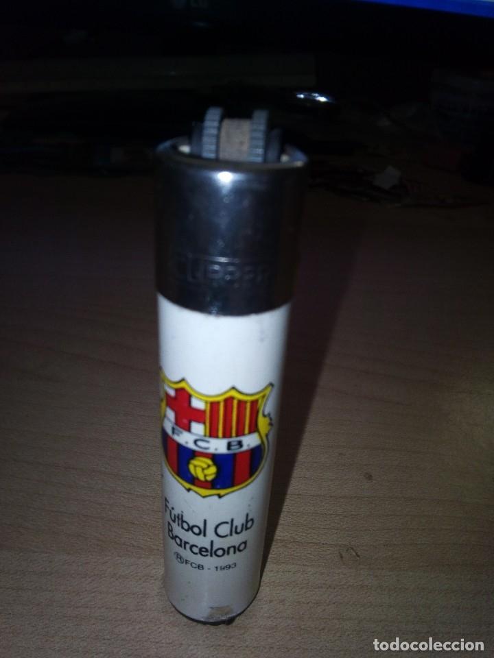 Mecheros: Mechero Clipper Futbol Club Barcelona 1993 original - Foto 2 - 149688490