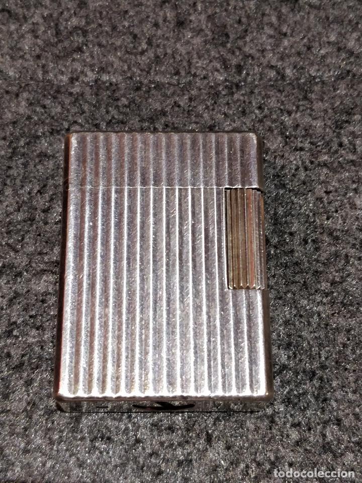 Mecheros: Encendedor Dupont Paris en plata funcionando - Foto 4 - 150327694