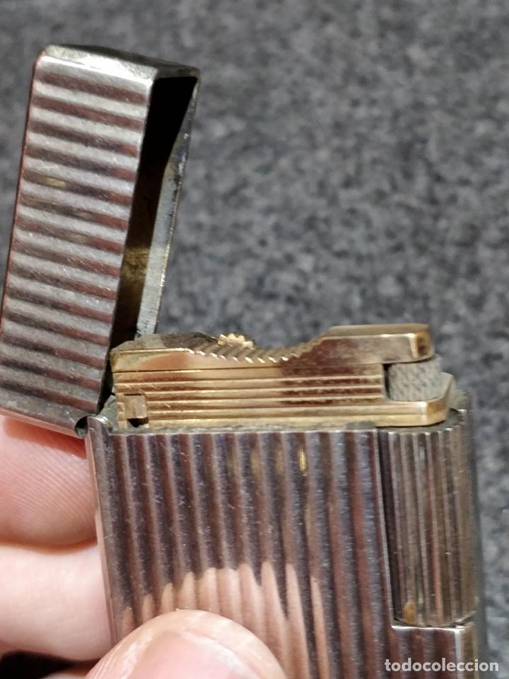 Mecheros: Encendedor Dupont Paris en plata funcionando - Foto 8 - 150327694