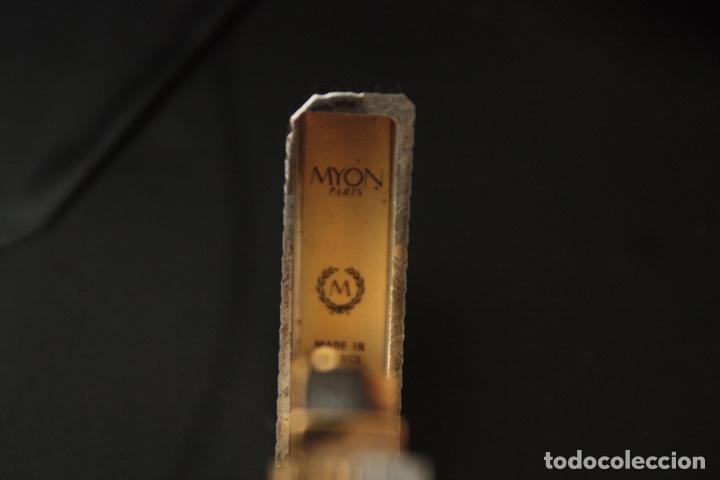 Mecheros: MECHERO MYON DE PLATA INTERIOR CHAPADO EN ORO - Foto 7 - 150766706