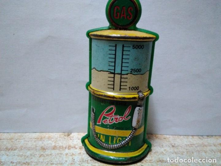 Lighters: surtidor de gasolina en hojalata funda de mechero - Foto 2 - 151016298