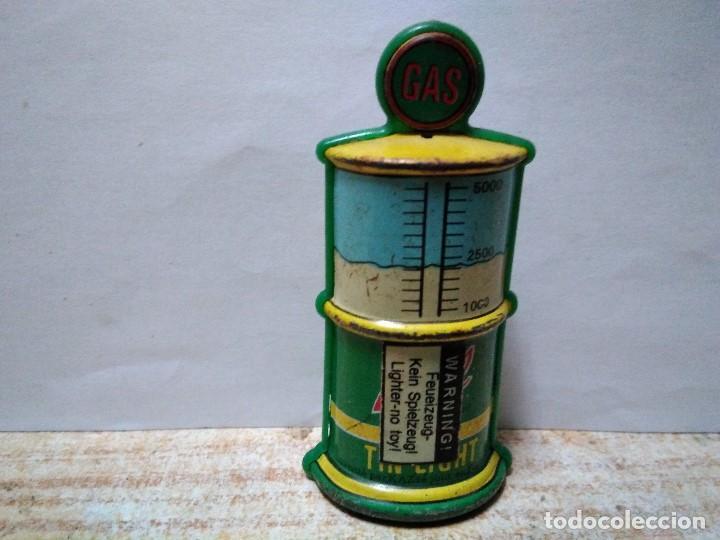Lighters: surtidor de gasolina en hojalata funda de mechero - Foto 3 - 151016298