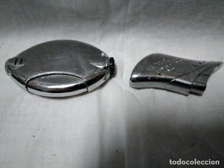 Mecheros: dos mecheros electronicos metalicos - Foto 2 - 151662230