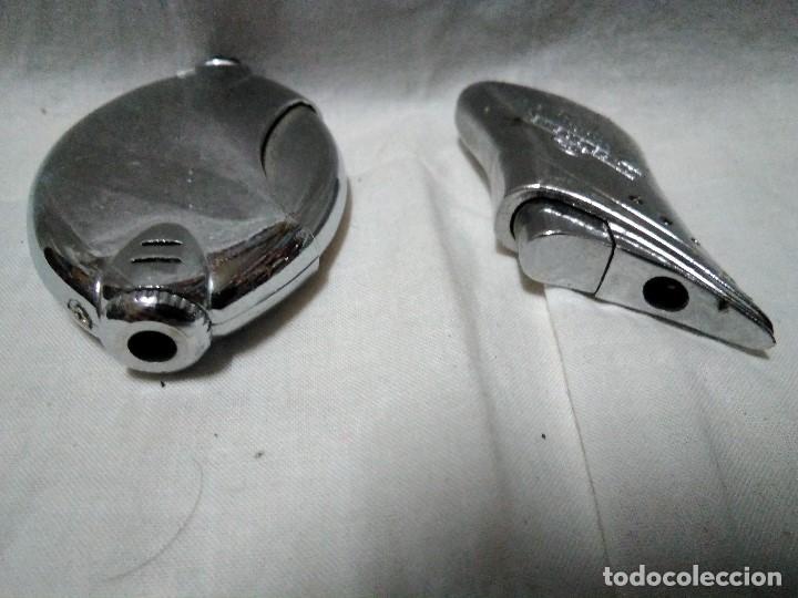 Mecheros: dos mecheros electronicos metalicos - Foto 3 - 151662230