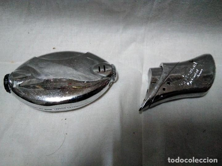 Mecheros: dos mecheros electronicos metalicos - Foto 5 - 151662230