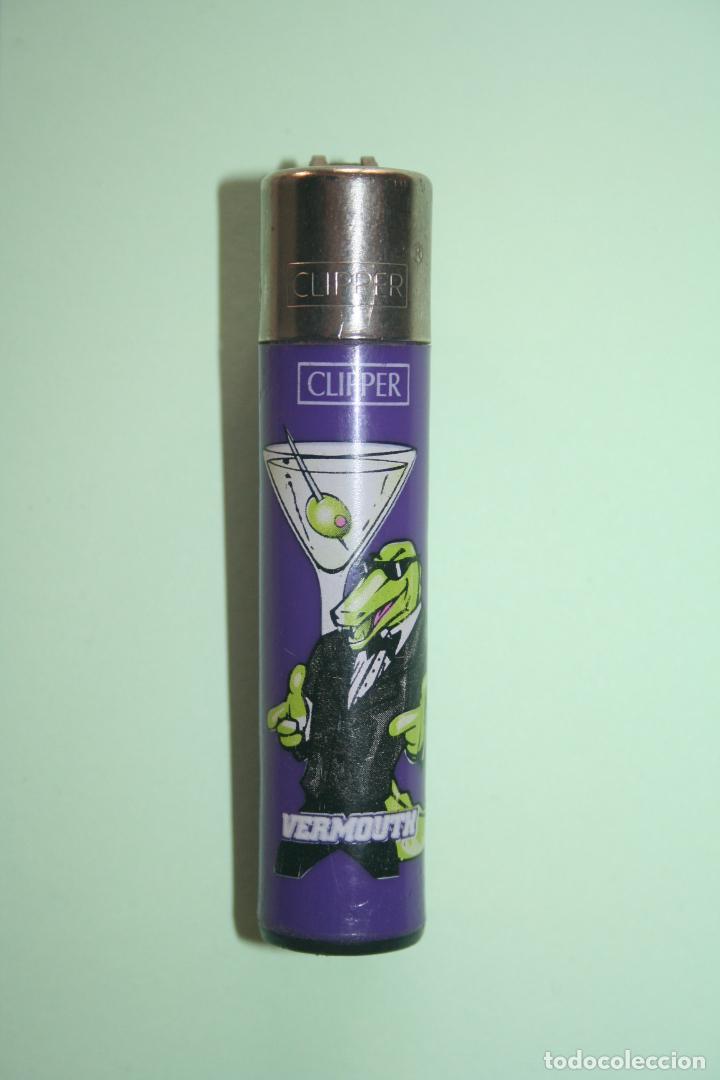 VERMOUTH *** CLIPPER MECHERO / ENCENDEDOR *** FUNCIONA ( AHORA SIN GAS) *** (Coleccionismo - Objetos para Fumar - Mecheros)
