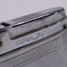 Mecheros: MECHERO SILVER MATCH. Lote 154271901