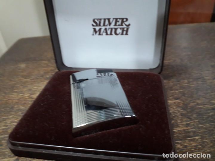 MECHERO SILVER MATCH (Coleccionismo - Objetos para Fumar - Mecheros)