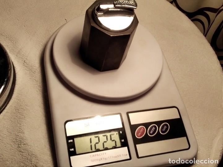 Mecheros: Mechero de mesa, de metal muy pesado 1.225 kg - Foto 7 - 156991146
