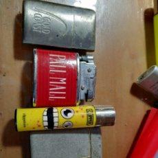 Mecheros: LOTAZO 12 MECHEROS , 5 METALICOS GAS Y GASOLINA. Lote 158838892