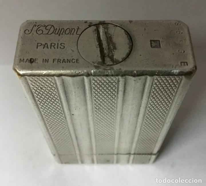 Mecheros: Mechero de plata - DUPONT - MADE IN FRANCE - PARIS - Foto 12 - 162155954