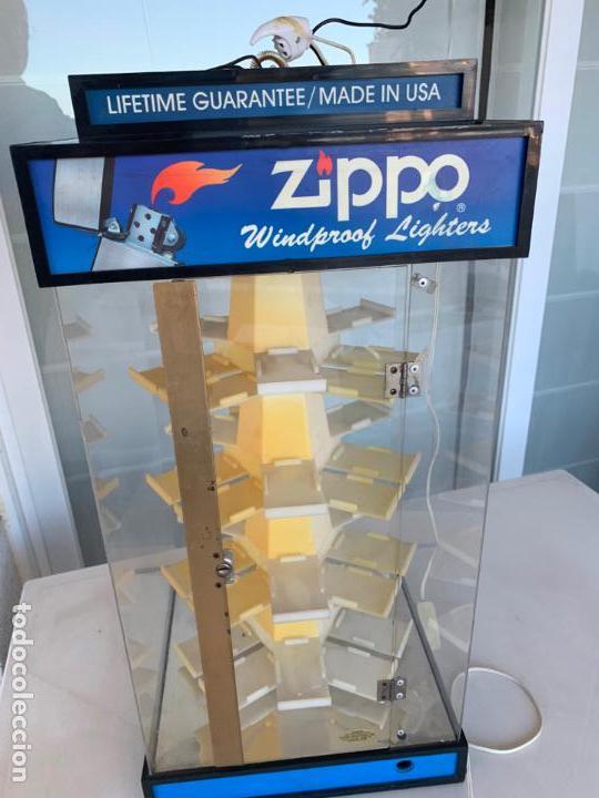 Mecheros: EXPOSITOR ZIPPO MADE IN USA - Foto 2 - 162623026