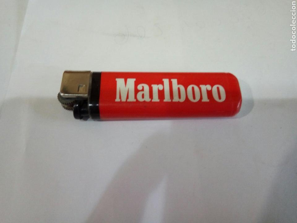 MECHERO MALBORO (Coleccionismo - Objetos para Fumar - Mecheros)