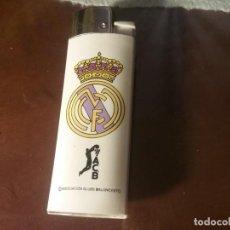Mecheros: MECHERO/ENCENDEDOR MARCA BRIO (FLAMAGAS). REAL MADRID ACB. Lote 165408530