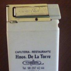 Mecheros: RARO MECHERO PLANO. Lote 166319666