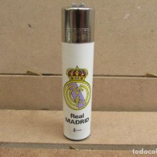 Mecheros: CLIPPER MECHERO ESCUDO REAL MADRID - ROSCA REDONDA. Lote 183090101