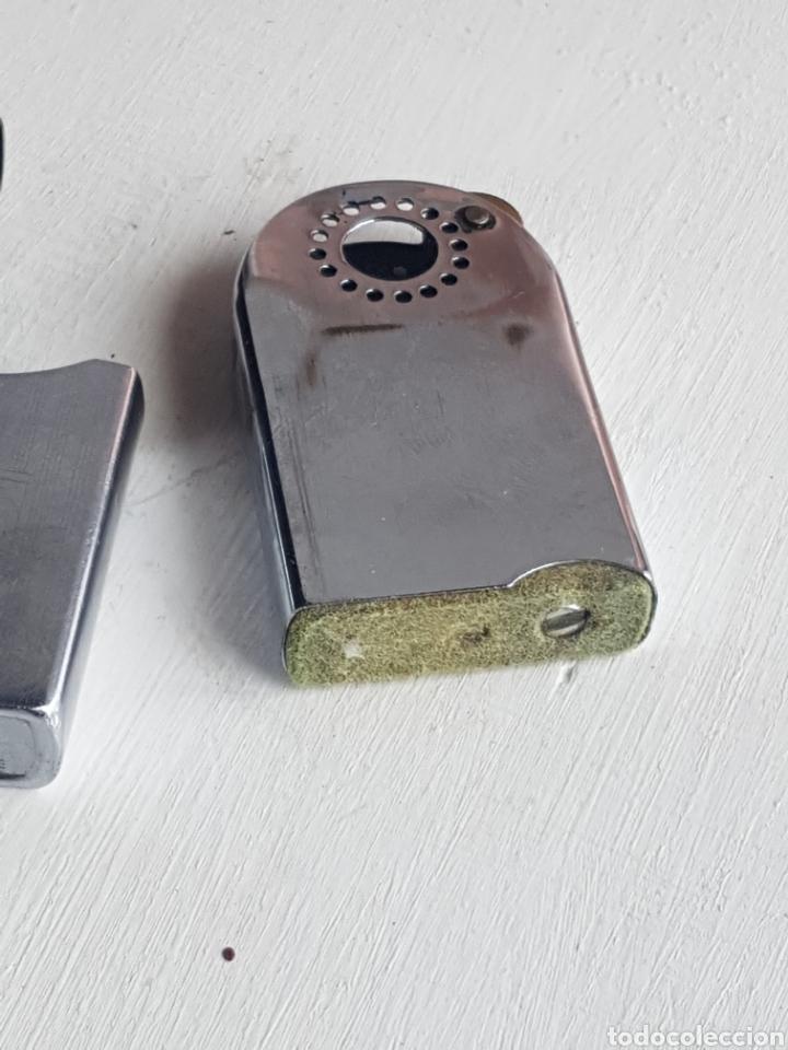 Mecheros: Antiguo mechero gasolina zenith WINDPROOF funciona perfectamente - Foto 4 - 168367816