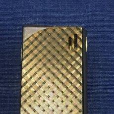 Mecheros: MECHERO COSMIC R DORADO METAL ELECTRONIC SIN CAJA 5X3,5CMS. Lote 168450868