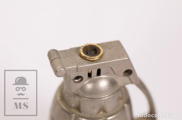 Mecheros: Mechero Soplete con Forma de Granada de Mano - MK-2 J-S - Medidas 5 x 3,5 x 7,5 cm - Foto 3 - 168809244