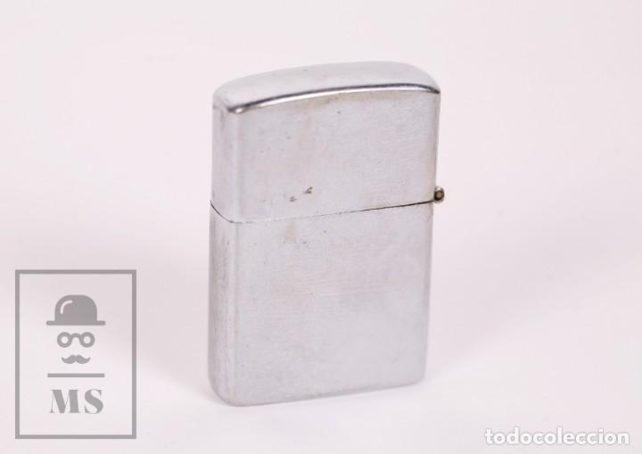 MECHERO TIPO ZIPPO - PENGUIN - NO. 111957, JAPAN / JAPÓN - MEDIDAS 4 X 1 X 5,5 CM (Coleccionismo - Objetos para Fumar - Mecheros)