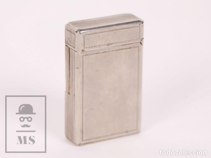 Mecheros: Mechero Tipo Zippo - KBL DeLuxe - Butane Gas - Medidas 3,5 x 1,5 x 5,5 cm - Foto 2 - 168818712