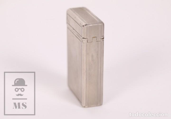 Mecheros: Mechero Tipo Zippo - KBL DeLuxe - Butane Gas - Medidas 3,5 x 1,5 x 5,5 cm - Foto 3 - 168818712