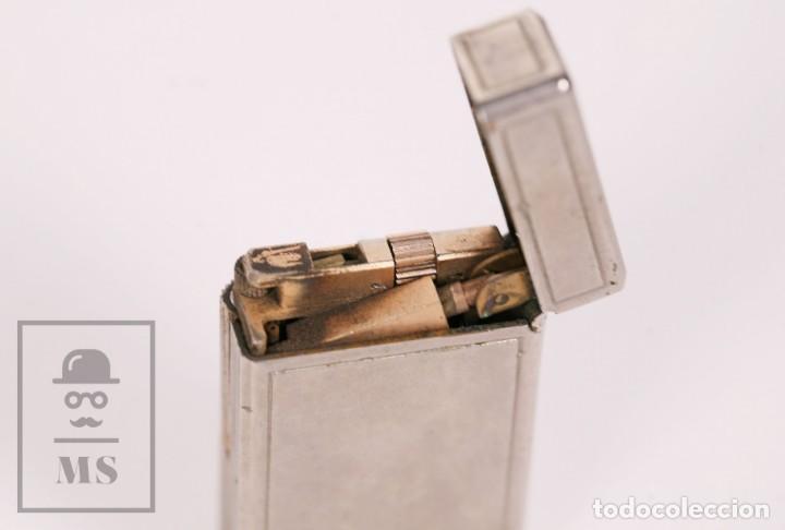 Mecheros: Mechero Tipo Zippo - KBL DeLuxe - Butane Gas - Medidas 3,5 x 1,5 x 5,5 cm - Foto 6 - 168818712