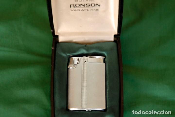 MECHERO RONSON (Coleccionismo - Objetos para Fumar - Mecheros)