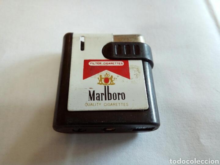 MECHERO DE PUBLICIDAD MALBORO (Coleccionismo - Objetos para Fumar - Mecheros)