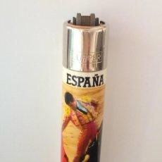 Isqueiros: CLIPPER ANTIGUO RASCADOR REDONDO.ESPAÑA.EN IMAGEN. Lote 171340692