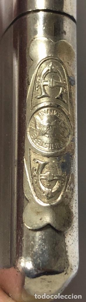 Mecheros: MECHERO. PLATA. PUBLICIDAD MINISTERE DE FINANCES. FRANCES. MEDIDAS APROX. 6.5 X 3.5 CM. VER FOTOS - Foto 3 - 175653624