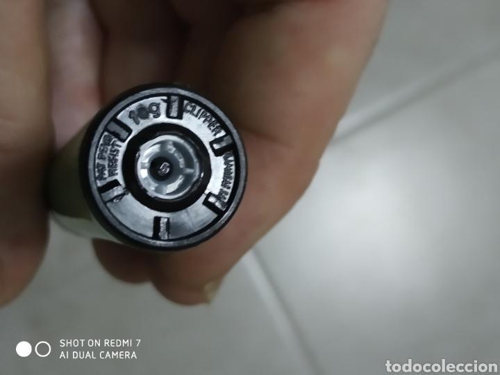 Mecheros: Porta mechero flamagas Clipper+ mechero rascador redondo sin regulador color verde - Foto 2 - 177078610