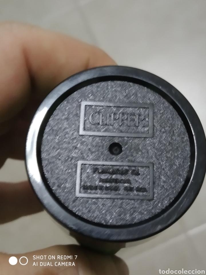 Mecheros: Porta mechero flamagas Clipper+ mechero rascador redondo sin regulador color verde - Foto 4 - 177078610