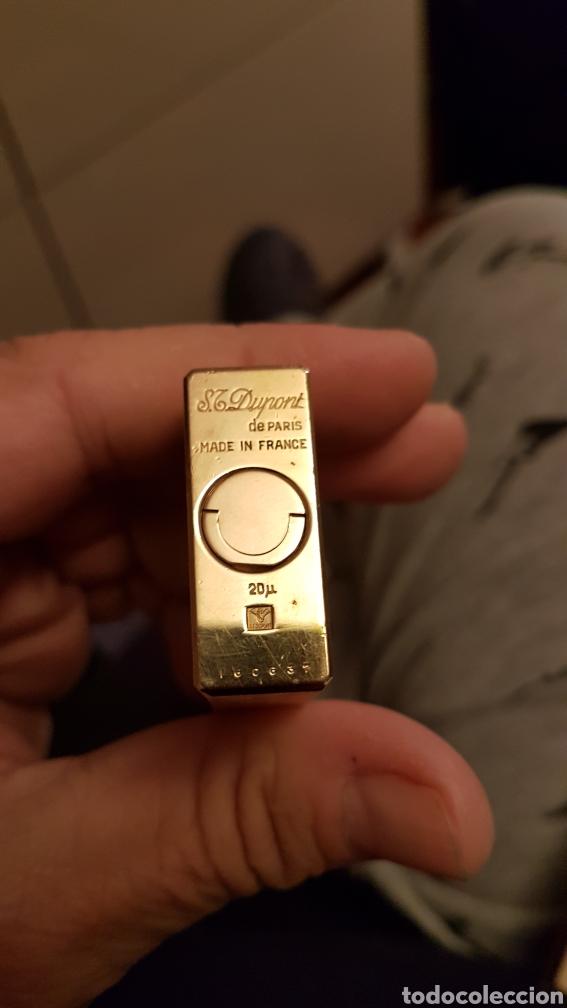 Mecheros: Mechero dupont oro 20 micras..1978 - Foto 13 - 180273245