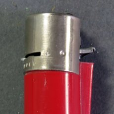 Mecheros: CLIPPER REGULABLE ROJO ENCENDEDOR MECHERO SIN PIEDRA NI GAS REGULABLE AÑOS 70. Lote 180469237