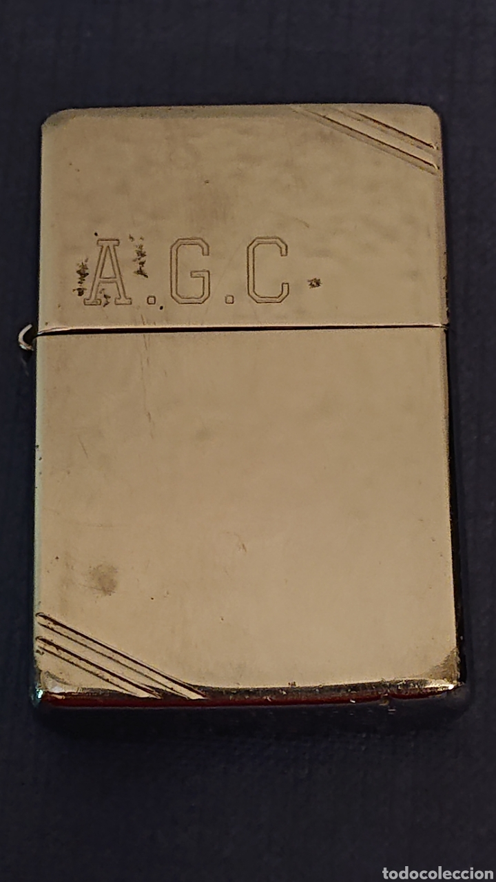 MECHERO ZIPPO BRADFORD PA USA (Coleccionismo - Objetos para Fumar - Mecheros)