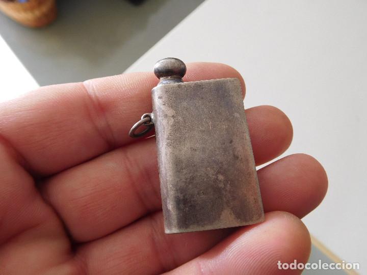 MECHERO ANTIGUO DE PLATA BRUDRO (Coleccionismo - Objetos para Fumar - Mecheros)