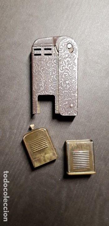 Mecheros: REGENS Encendedor mechero de gasolina vintage Estados Unidos muy antiguo - Foto 2 - 191143096