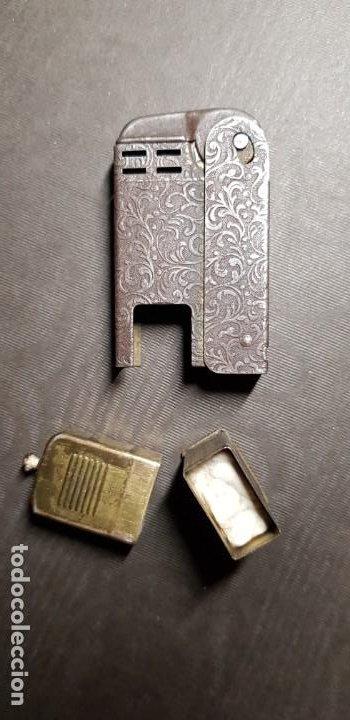 Mecheros: REGENS Encendedor mechero de gasolina vintage Estados Unidos muy antiguo - Foto 3 - 191143096