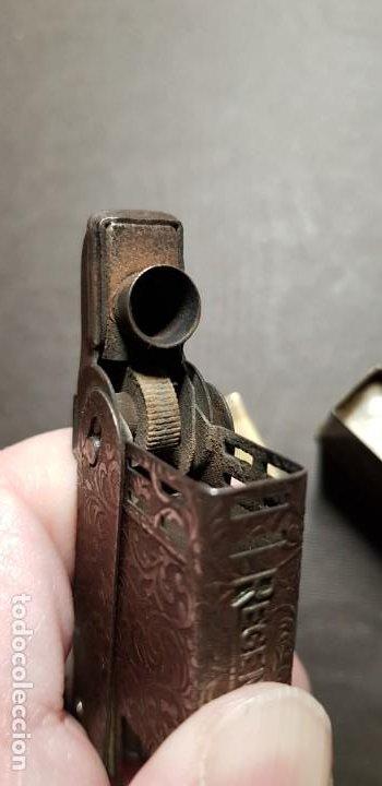 Mecheros: REGENS Encendedor mechero de gasolina vintage Estados Unidos muy antiguo - Foto 4 - 191143096
