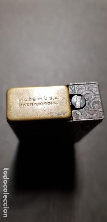 Mecheros: REGENS Encendedor mechero de gasolina vintage Estados Unidos muy antiguo - Foto 6 - 191143096