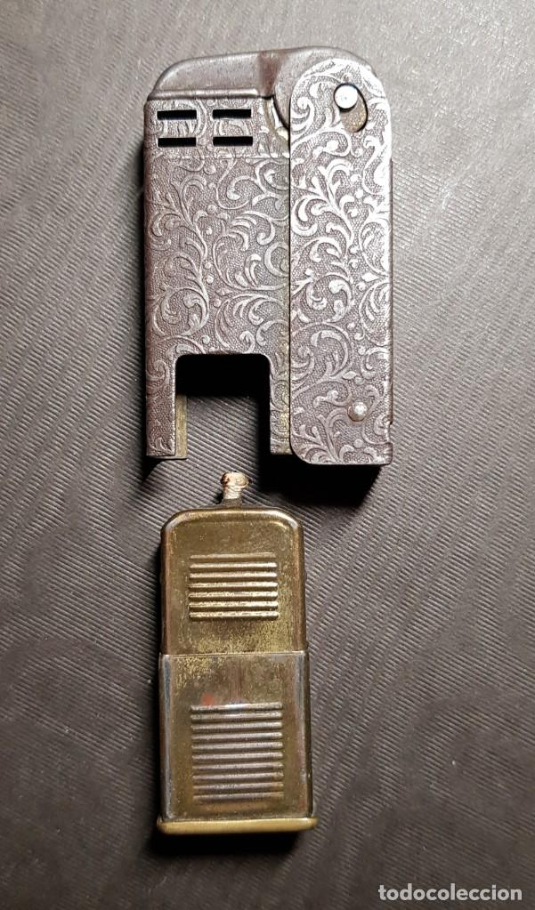 Mecheros: REGENS Encendedor mechero de gasolina vintage Estados Unidos muy antiguo - Foto 8 - 191143096