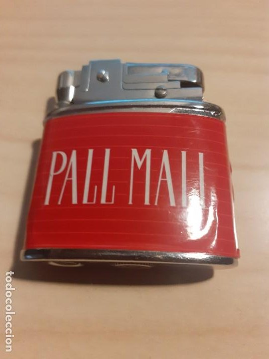 MECHERO PROPAGANDA PALLMALL (Coleccionismo - Objetos para Fumar - Mecheros)