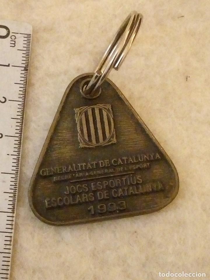 Mecheros: LLAVERO SPORT CATALÁ. 1993.EN IMAGEN - Foto 2 - 194244975