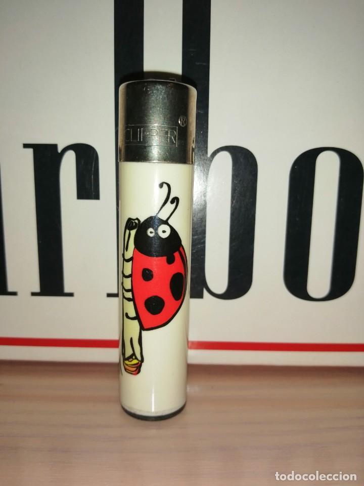 CLIPPER MARIQUITA FUMETA (Coleccionismo - Objetos para Fumar - Mecheros)