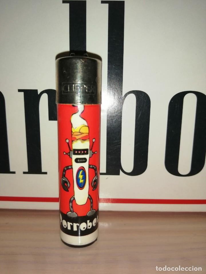 CLIPPER PORROBOT (Coleccionismo - Objetos para Fumar - Mecheros)