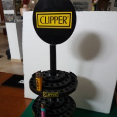 Mecheros: EXPOSITOR DE CLIPPER. Lote 194693350